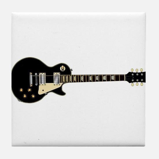 Typical Rock Guitar Tile Coaster