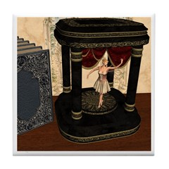 The Music Box Tile Coaster