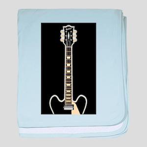 Semi Acoustic Rock Guitar baby blanket