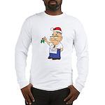 Kiss a Mason Mistletoe Long Sleeve T-Shirt
