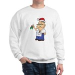 Kiss a Mason Mistletoe Sweatshirt