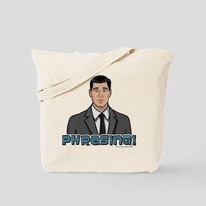 Archer Phrasing Tote Bag