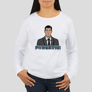 Archer Phrasing Women's Long Sleeve T-Shirt