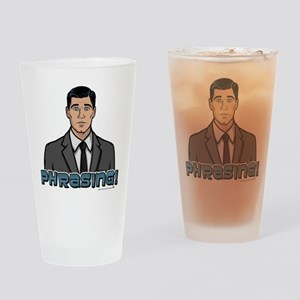Archer Phrasing Drinking Glass