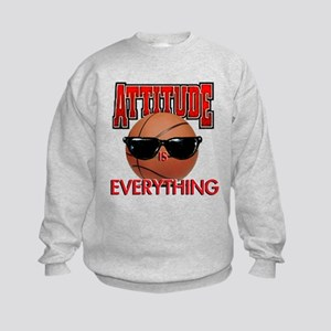 Attitude is Everything Kids Sweatshirt
