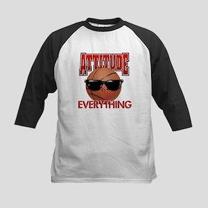 Attitude is Everything Kids Baseball Jersey