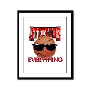 Attitude is Everything Framed Panel Print