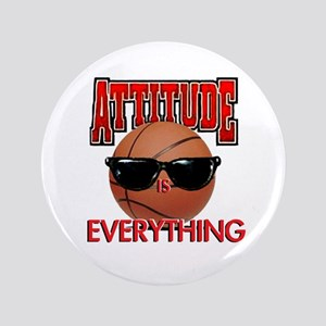 "Attitude is Everything 3.5"" Button"
