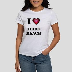 I love Third Beach Rhode Island T-Shirt
