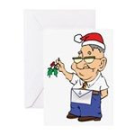 Kiss a Mason Greeting Cards (Pk of 10)