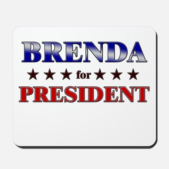 BRENDA for president Mousepad