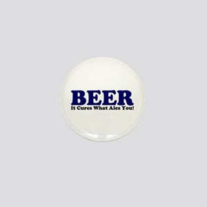 The Beer Cure Mini Button
