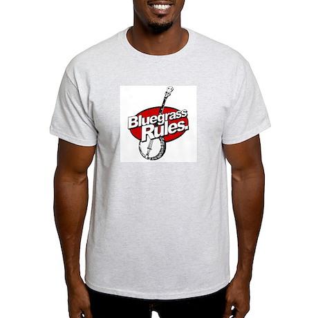 bluegrass rules Ash Grey T-Shirt