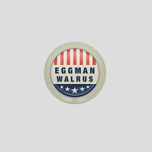 Eggman - Walrus Mini Button