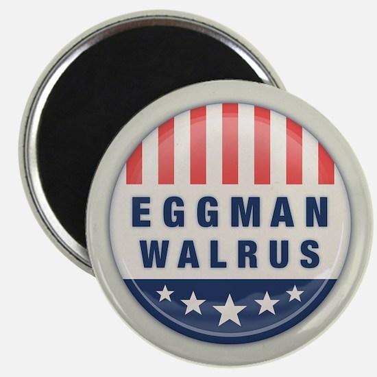 Eggman - Walrus Magnet