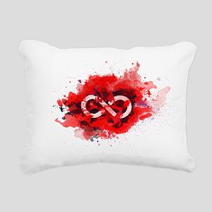 The 100 ALIE Rectangular Canvas Pillow