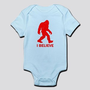 I Believe In Bigfoot Body Suit