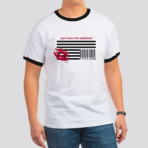 American Corporations Flag Ringer T