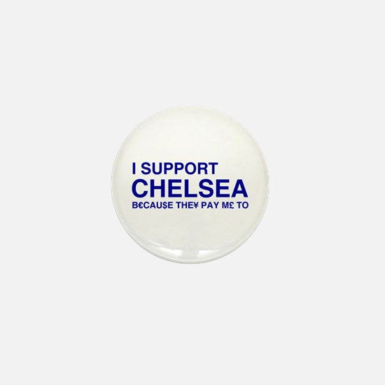 I Support Chelsea Mini Button