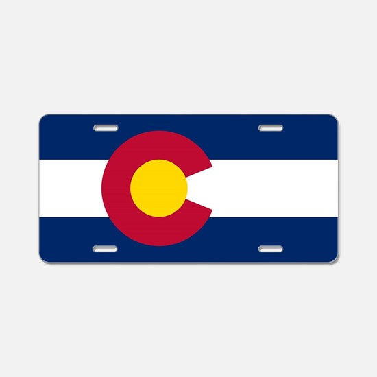 Colorado state flag Plates Aluminum License Plate