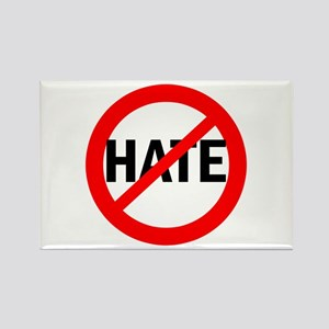 Say NO to Hate Rectangle Magnet