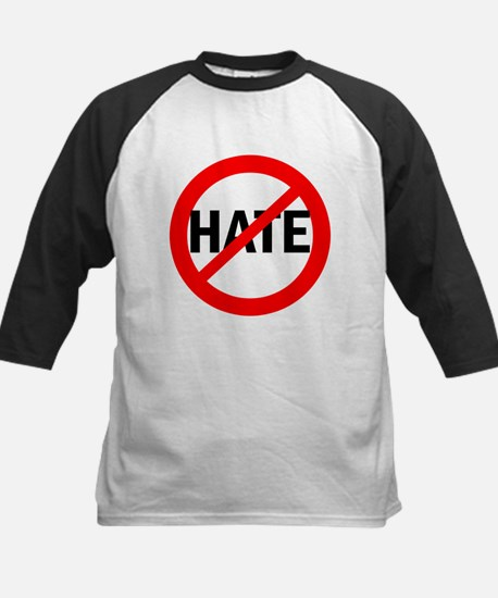 Say NO to Hate Kids Baseball Jersey