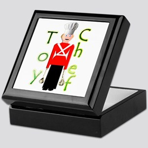 Toy Chef Keepsake Box