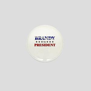 BRANDY for president Mini Button