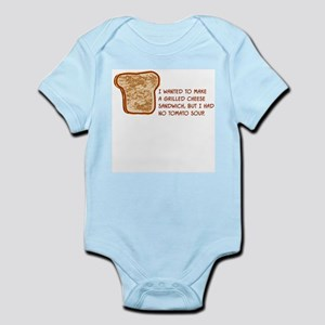 grilledcheeseL Body Suit