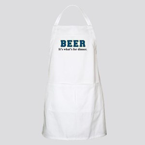 Beer: It's What's For Dinner Apron
