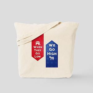 Low-High Tote Bag