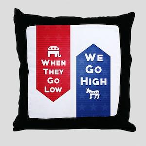 Low-High Throw Pillow