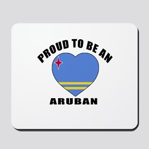 Aruban Patriotic Designs Mousepad