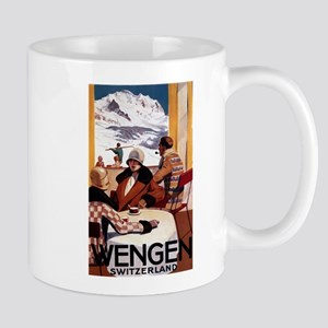 Wengen, Switzerland - Wengen Downhill Club Mugs