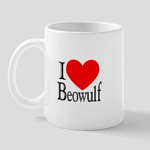 I Love Beowulf Mug