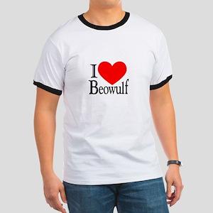 I Love Beowulf Ringer T