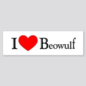 I Love Beowulf Bumper Sticker