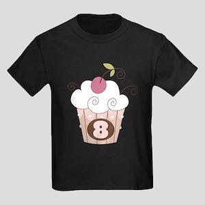 8th Birthday Cupcake T-Shirt