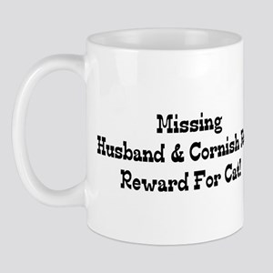 Missing Husband & Cornish Rex Mug