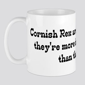 Cornish Rex Are My Life Mug