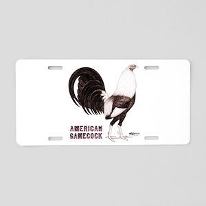 Gamecock Sepia Aluminum License Plate