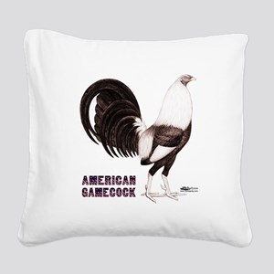 Gamecock Sepia Square Canvas Pillow