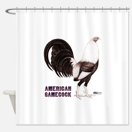 Gamecock Sepia Shower Curtain