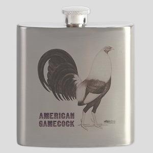 Gamecock Sepia Flask