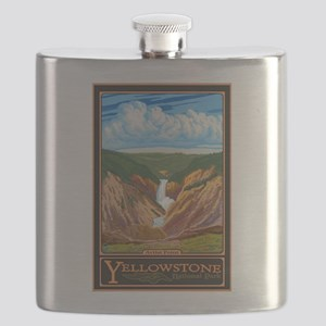 Yellowstone National Park, WY - Artist Point Flask