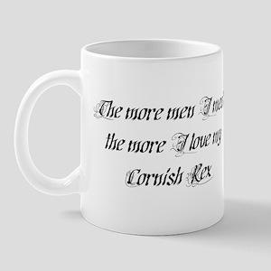 Men or Cornish Rex Mug