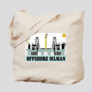 Offshore Oilman Tote Bag