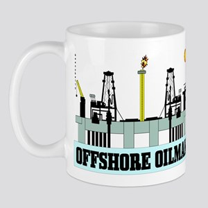 Offshore Oilman Mug