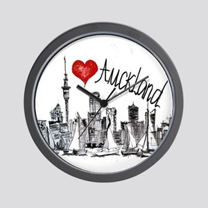 I love Auckland Wall Clock