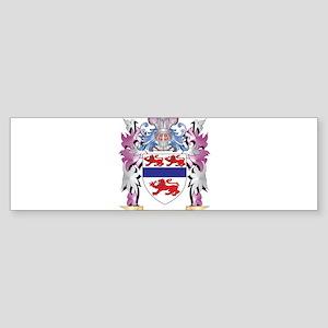 Gannon Coat of Arms (Family Crest) Bumper Sticker